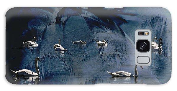 Swan Feather Galaxy Case by Michael Mogensen