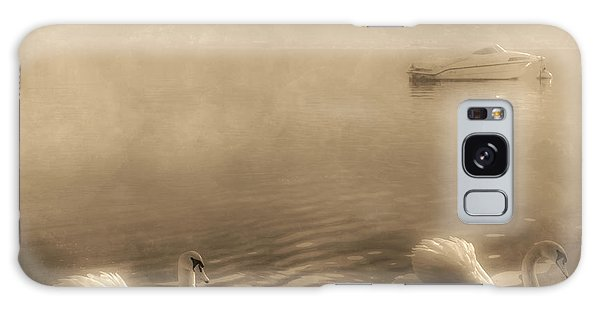 Swan Boats Galaxy Case - Swans by Joana Kruse