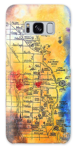 Sweet Home Chicago Galaxy Case