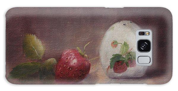 Sweetness Of Summer Galaxy Case by Debbie Lamey-MacDonald