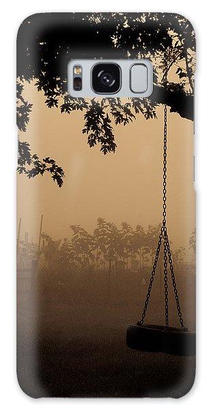 Swing In The Fog Galaxy Case by Cheryl Baxter