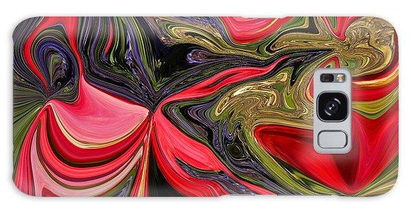 Swirled Garden 1 Galaxy Case by Renate Nadi Wesley
