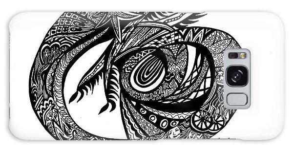 Galaxy Case - Symbol Of The Dragon by Karen Elzinga