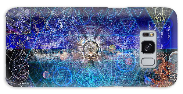 Synesthetic Dreamscape Galaxy Case