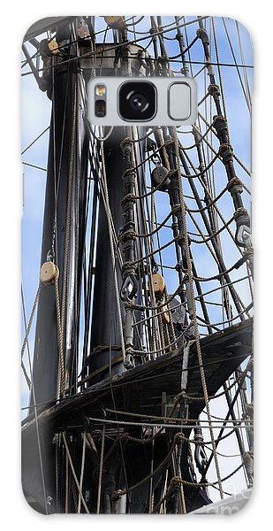 Tall Ship Mast Galaxy Case