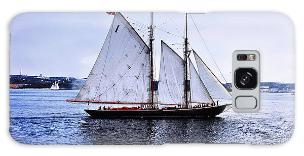 Tall Ship Sail By  Galaxy Case by Elaine Manley