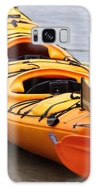 Tandem Yellow Kayak Galaxy Case