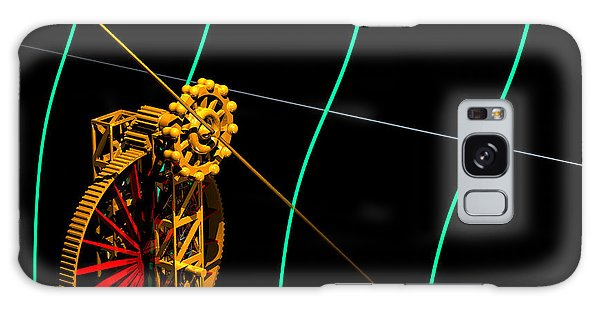 Galaxy Case featuring the digital art Tangent Graph Math Engine by Russell Kightley