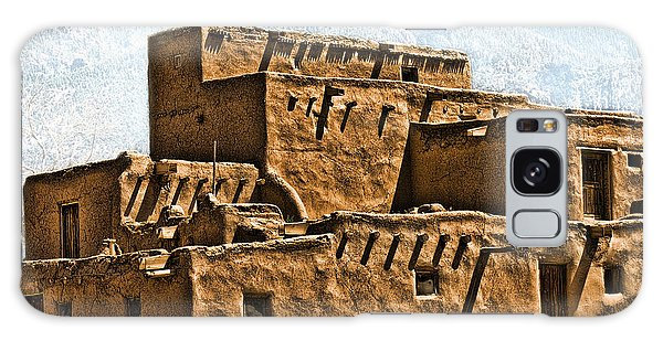 Taos Pueblo Galaxy Case by John Hansen