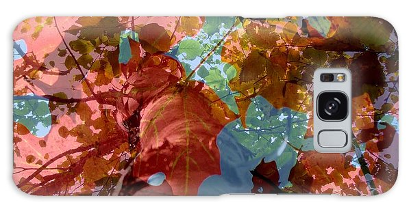 Tapestry Of Autumn 2 Galaxy Case by France Laliberte