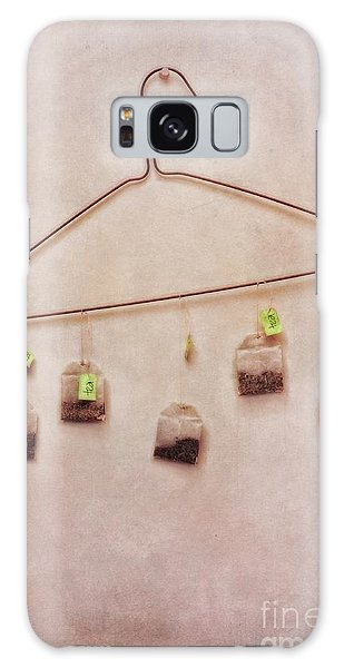 Lives Galaxy Case - Tea Bags by Priska Wettstein