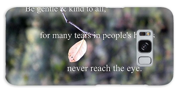 Tears In People's Hearts Galaxy Case by Michelle Frizzell-Thompson