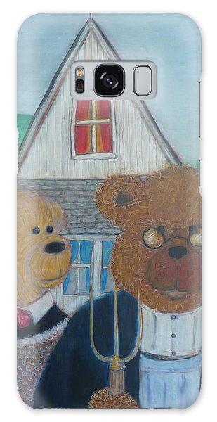 Teddy Bear Gothic Galaxy Case