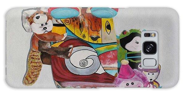 Galaxy Case - Teddy Bears by Karen Elzinga