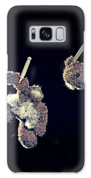 Leash Galaxy Case - Teddy Without Head by Joana Kruse