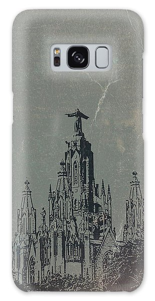 Temple Galaxy Case - Temple Expiatory by Naxart Studio