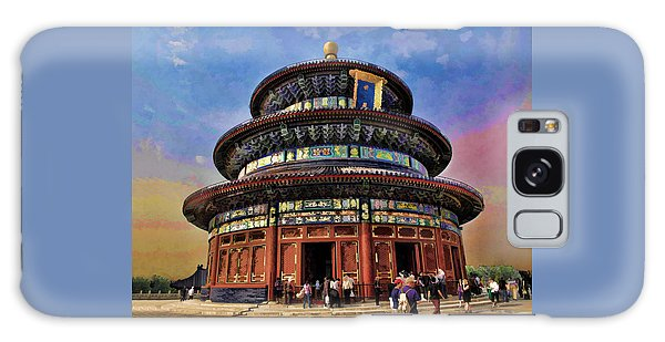 Temple Of Heaven - Beijing China Galaxy Case