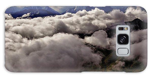 Denali Galaxy Case - Ten Thousand Feet Over Denali by Rick Berk