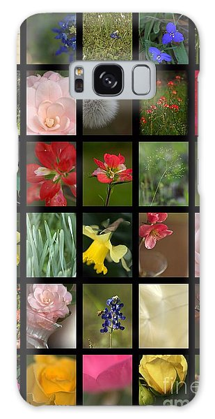 Texas Beauties Galaxy Case by Kim Henderson