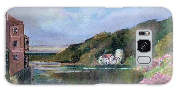 Thames River England By Mary Krupa Galaxy Case