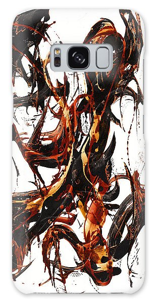 The Art Of Languishing Liquidly Well  22.120110 Galaxy Case by Kris Haas