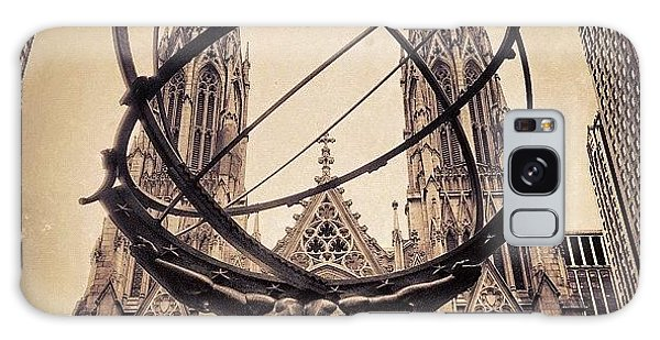 Religious Galaxy Case - The Atlas & St. Patrick's Cathedral - by Joel Lopez