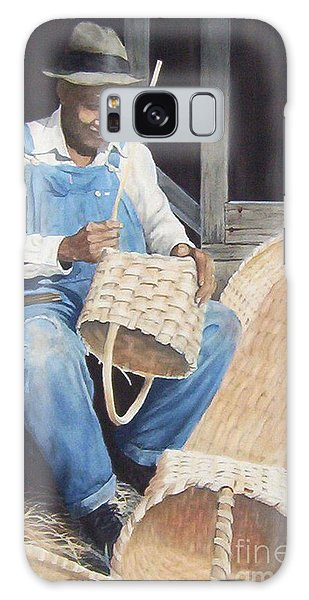 The Basket Maker ...sold  Galaxy Case