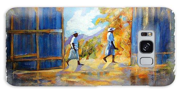 The Blue Gates Of Haiti Galaxy Case