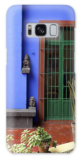 The Blue House Mexico City Galaxy Case