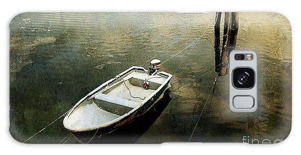 The Boat In Winter Galaxy Case
