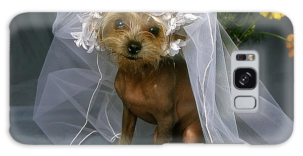 The Bride Is A Real Dog Galaxy Case