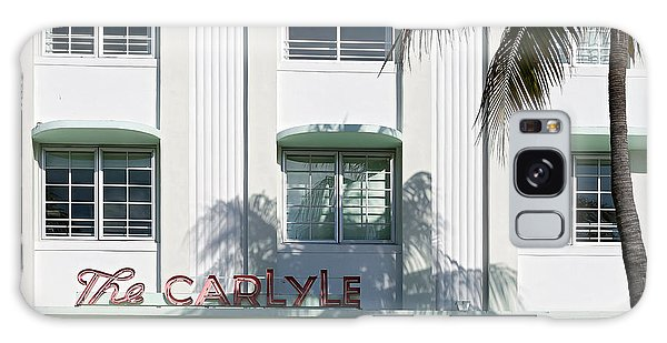The Carlyle Hotel 2. Miami. Fl. Usa Galaxy Case