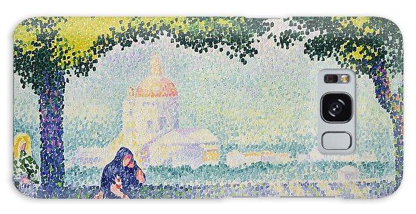 Place Of Worship Galaxy Case - The Church Of Santa Maria Degli Angeli by Henri-Edmond Cross