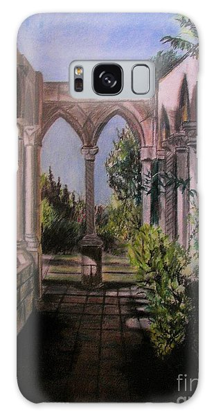 The Cloisters Colonade Galaxy Case by Judy Via-Wolff