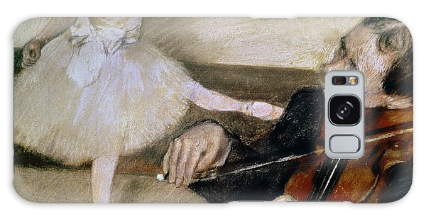 Violin Galaxy Case - The Dance Lesson by Edgar Degas