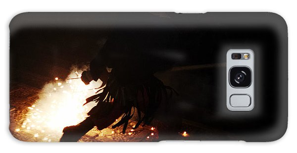The Devil Of The Stairs Galaxy Case