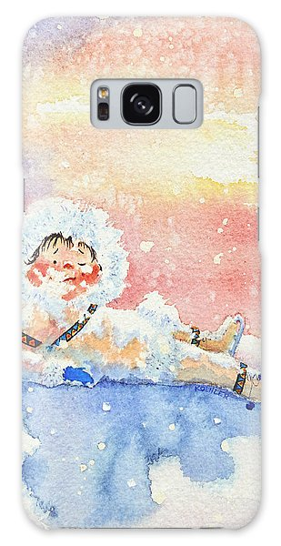 Olympic Figure Skating Galaxy Case - The Figure Skater 6 by Hanne Lore Koehler