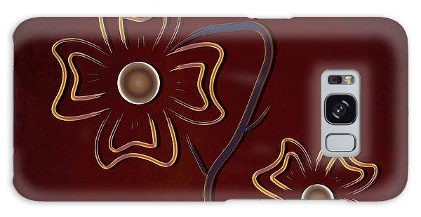 The Flowers  Galaxy Case by Milena Ilieva