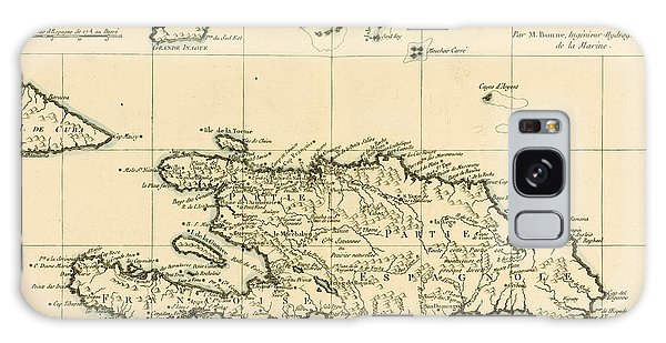 Engraving Galaxy Case - The French And Spanish Colony Of The Island Of St Dominic Of The Greater Antilles by Guillaume Raynal