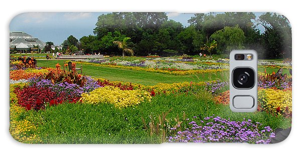 The Gardens Of The Conservatory Galaxy Case by Lynn Bauer
