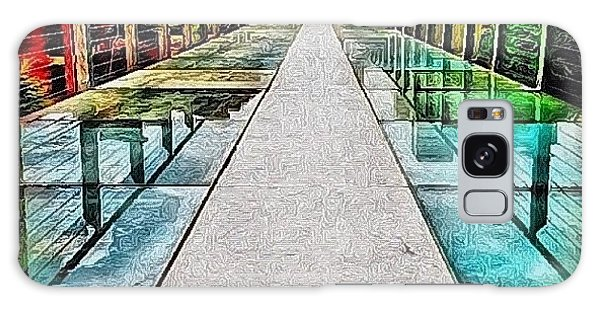 Edit Galaxy Case - The Glass Bridge by Mari Posa