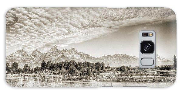 Teton Range Galaxy Case - The Grand Tetons In Jackson Wyoming by Dustin K Ryan