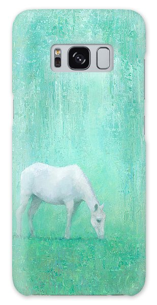 Horse Galaxy Case - The Green Glade by Steve Mitchell