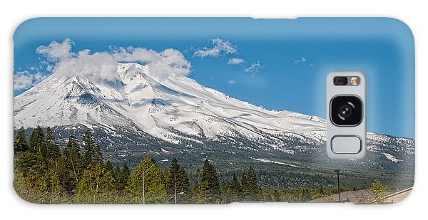The Heart Of Mount Shasta Galaxy Case