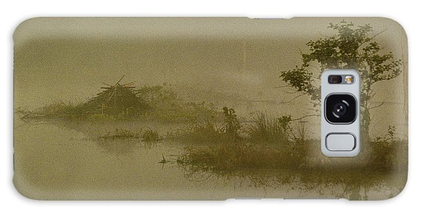 The Lodge In The Mist Galaxy Case by Skip Willits
