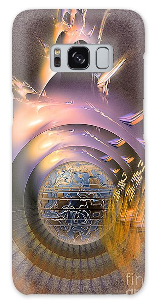 The Message - Fractal Art Galaxy Case