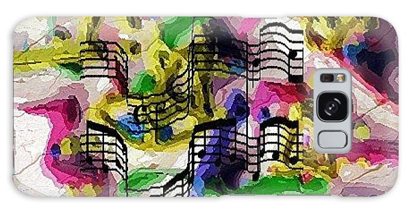 The Music In Me Galaxy Case by Alec Drake