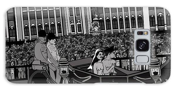 Galaxy Case - The Naked Royal Wedding 2 by Karen Elzinga