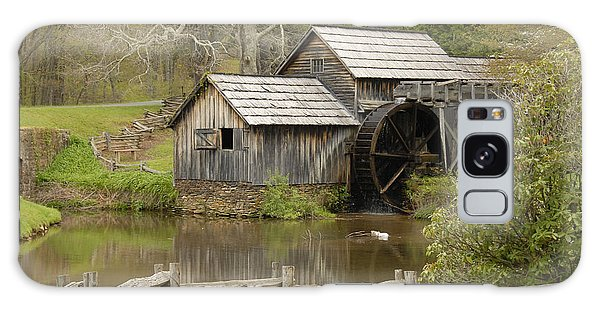 The Old Grist Mill Galaxy Case by Cindy Manero