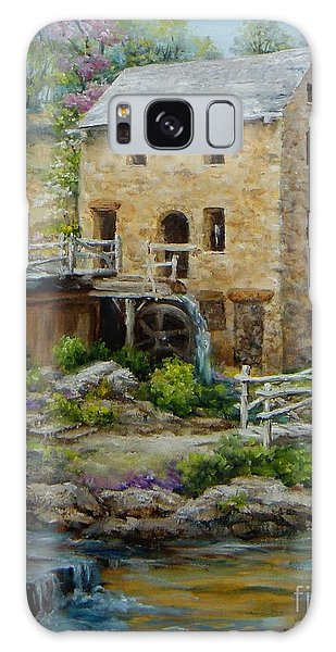 The Old Mill In Spring Galaxy Case